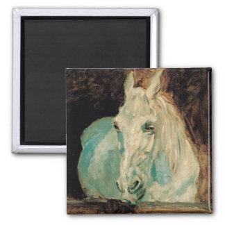 The White Horse Gazelle - Henri Toulouse-Lautrec Magnet