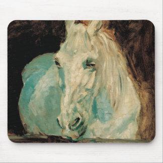 The White Horse Gazelle - Henri Toulouse-Lautrec Mousepads