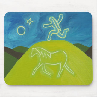 The White Horse in Somerset 2011 Mouse Pad