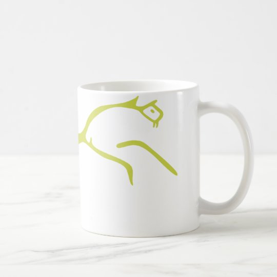The White Horse of Uffington Coffee Mug