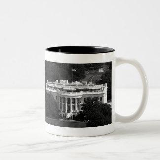 The White House - 1846 & 2012 (See Both Sides) Coffee Mug
