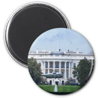 The White House 2 Inch Round Magnet