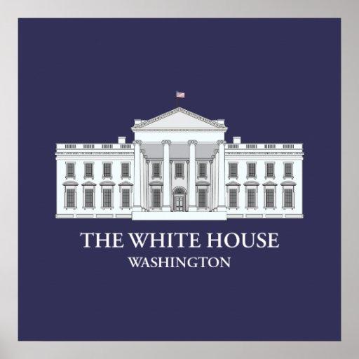 The White House Architectural Print Zazzle