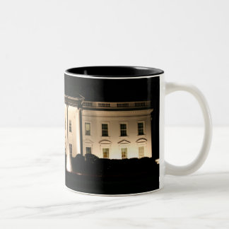 The White House At Night Mug