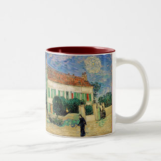 The White House at Night Two-Tone Coffee Mug