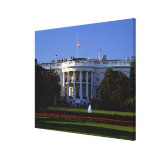 The White House Canvas Print