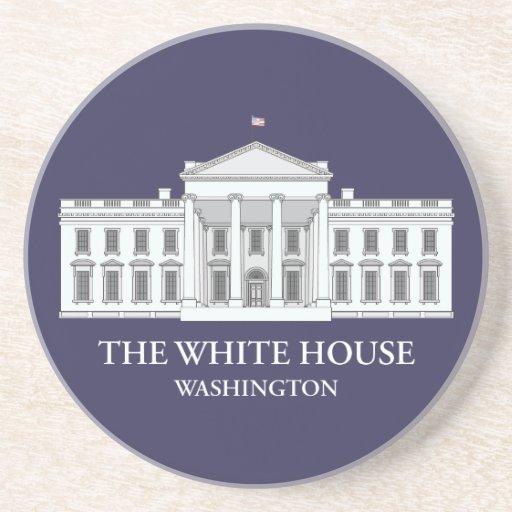 The White House Commemorative Coaster
