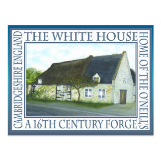 THE WHITE HOUSE,FORGE by Brigid O'Neill Hovey Postcard
