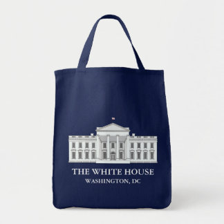The White House Grocery Tote