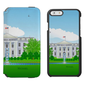 The White House iPhone 6/6s Wallet Case