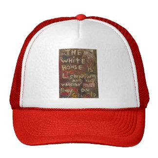 the white house is listening II Trucker Hats