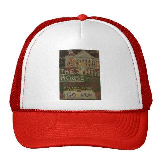 the white house is listening trucker hat