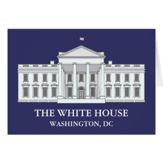The White House Notecards Stationery Note Card