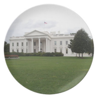 The White House plate
