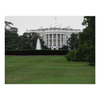 The White House Poster