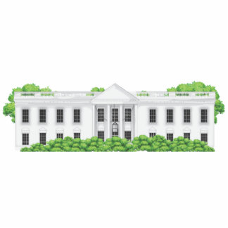 The White House Standing Photo Sculpture