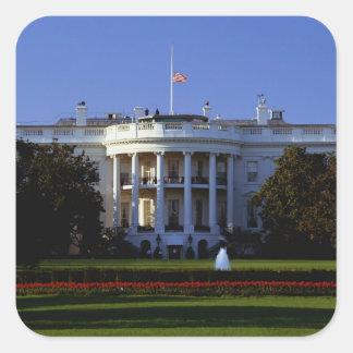 The White House Square Sticker