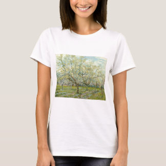 The white orchard by Vincent Van Gogh T-Shirt