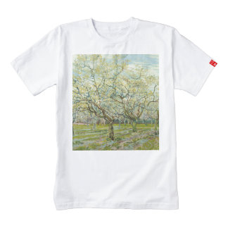 The white orchard by Vincent Van Gogh Zazzle HEART T-Shirt