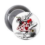 The White Rabbit 2 Inch Round Button