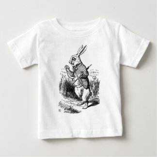 The White Rabbit - Alice in wonder country - Baby T-Shirt