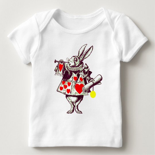 The White Rabbit Baby T-Shirt