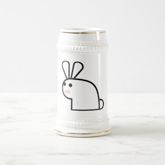 The White Rabbit Beer Stein