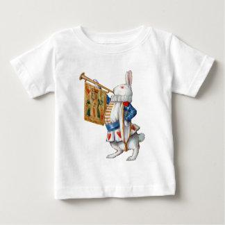 The White Rabbit Blows the Trumpet In Wonderland Tee Shirt