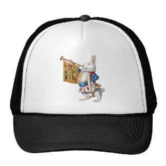 The White Rabbit Blows the Trumpet In Wonderland Trucker Hat