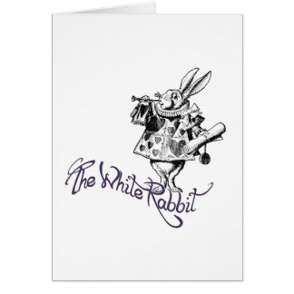 The White Rabbit Card