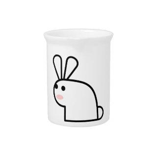 The White Rabbit Drink Pitcher