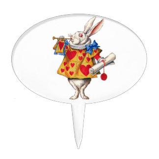 The White Rabbit From Alice in Wonderland Cake Topper