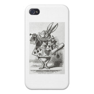 The White Rabbit from Alice in Wonderland iPhone 4/4S Covers