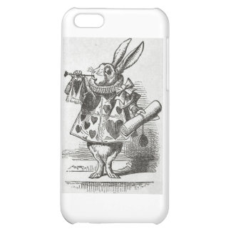 The White Rabbit from Alice in Wonderland Case For iPhone 5C