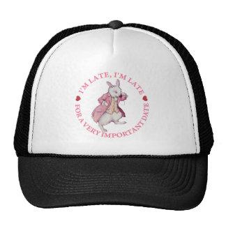 The White Rabbit From Alice in Wonderland Trucker Hat