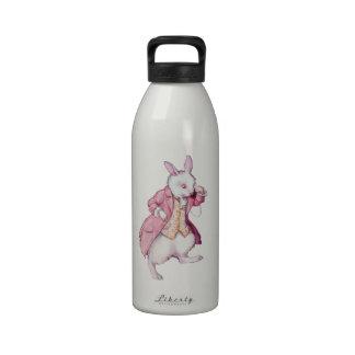 The White Rabbit from Alice in Wonderland Drinking Bottle
