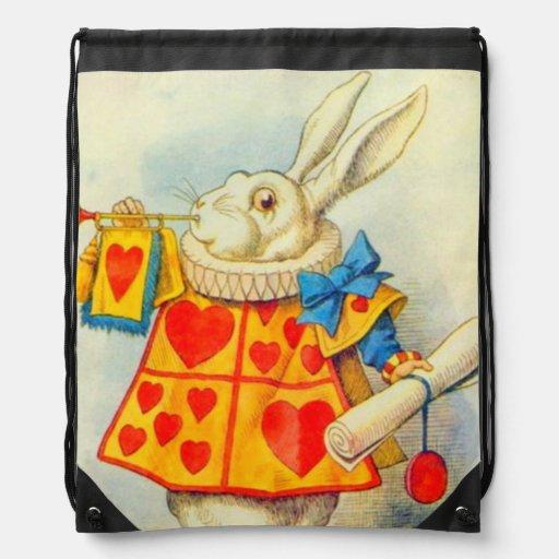 The White Rabbit Full Color Backpack