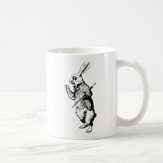 The White Rabbit Inked Coffee Mug