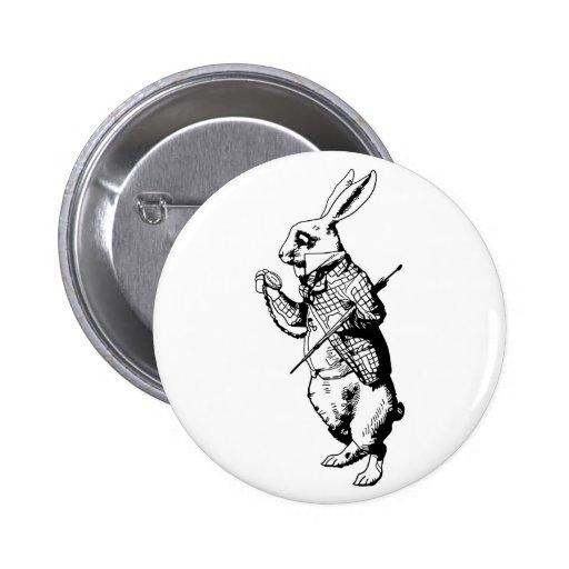 The White Rabbit - Inked Pins