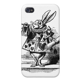 The White Rabbit Covers For iPhone 4