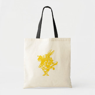 The White Rabbit Lime Apple Green Yellow Tote Bag