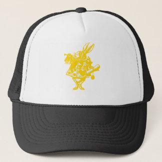 The White Rabbit Lime Apple Green Yellow Trucker Hat
