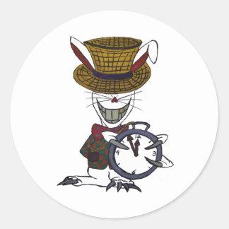 The White Rabbit Logo Sticker