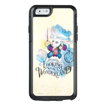 The White Rabbit | Looking For Wonderland 3 Otterbox Iphone 6/6s Case by disney at Zazzle