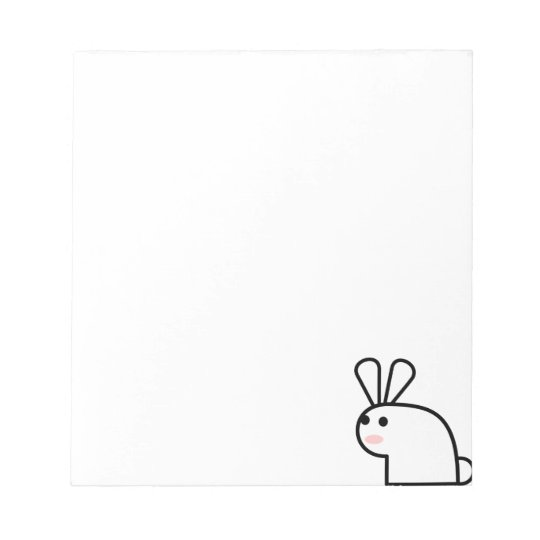 The White Rabbit Notepad
