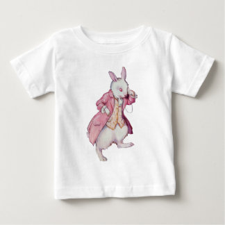 The White Rabbit or Peter Cottontail Baby T-Shirt