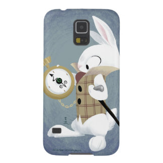 The White Rabbit (painted) Galaxy case