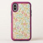 The White Rabbit Pattern OtterBox Symmetry iPhone X Case