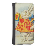 The White Rabbit Phone Wallet Case