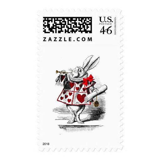 The White Rabbit Stamp